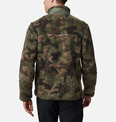 Chaqueta de polar sherpa Winter Pass para hombre Winter Pass™ Print Fleece Full Zip | 449 | L, Cypress Camo, back