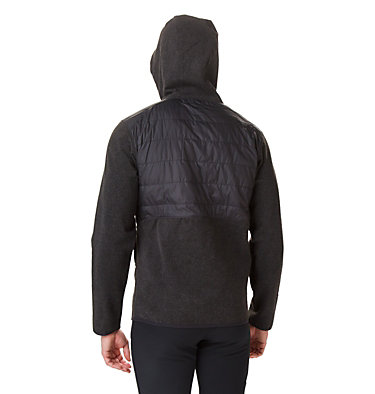Veste Polaire Hybride À Capuche Panorama™ Homme Panorama™ Full Zip Hoodie | 030 | M, Black, back