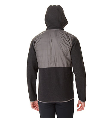 Veste Polaire Hybride À Capuche Panorama™ Homme Panorama™ Full Zip Hoodie | 030 | M, Charcoal, back