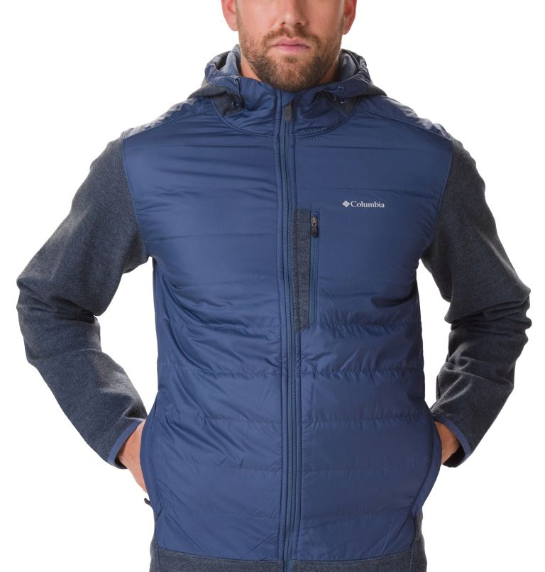 Men's Panorama™ Full Zip Hybrid Fleece Jacket Men's Panorama™ Full Zip Hybrid Fleece Jacket, a1