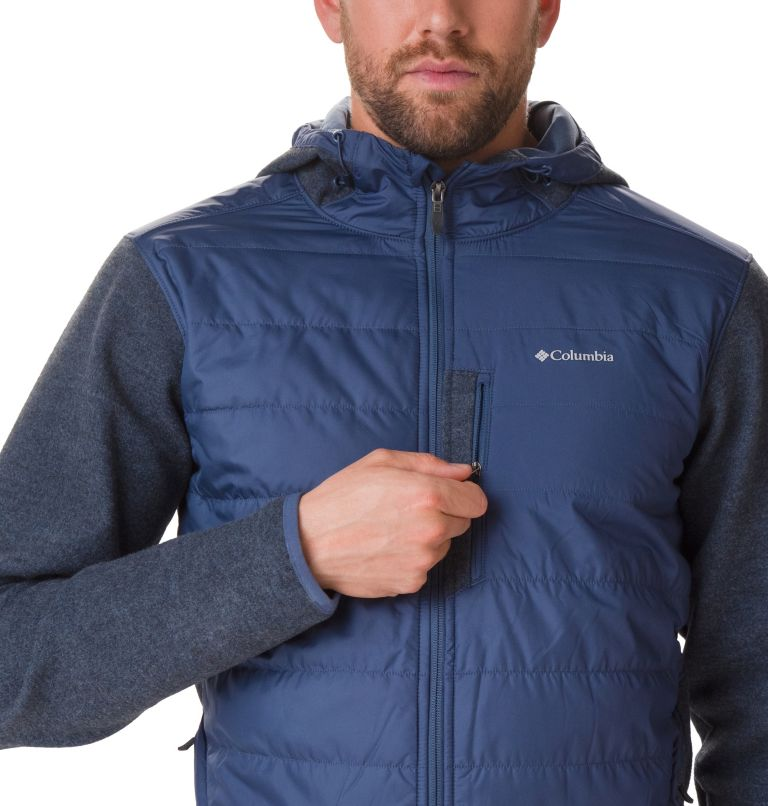 Men's Panorama™ Full Zip Hybrid Fleece Jacket Men's Panorama™ Full Zip Hybrid Fleece Jacket, a2