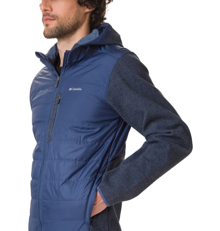 Men's Panorama™ Full Zip Hybrid Fleece Jacket Men's Panorama™ Full Zip Hybrid Fleece Jacket, a3