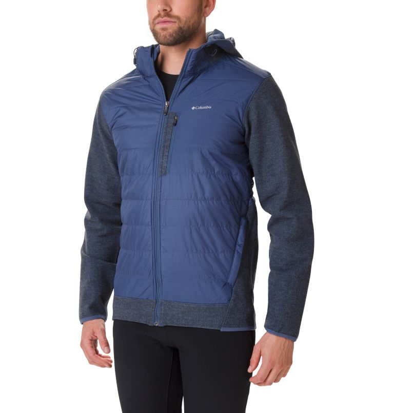 Men's Panorama™ Full Zip Hybrid Fleece Jacket Men's Panorama™ Full Zip Hybrid Fleece Jacket, front