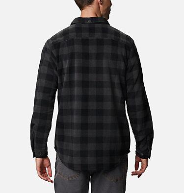 Men's Flare Gun™ Fleece Over Shirt Flare Gun™ Fleece Over Shirt | 316 | XXL, Black Buffalo Check, back