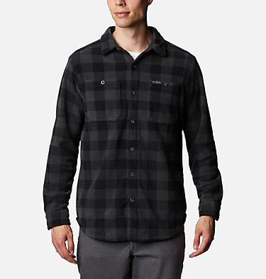 Men's Flare Gun™ Fleece Over Shirt Flare Gun™ Fleece Over Shirt | 316 | XXL, Black Buffalo Check, front