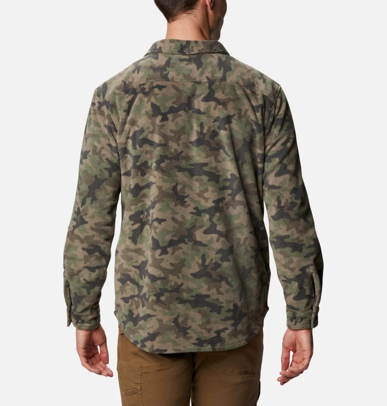 Chemise en laine polaire Flare Gun pour homme Chemise en laine polaire Flare Gun pour homme, back