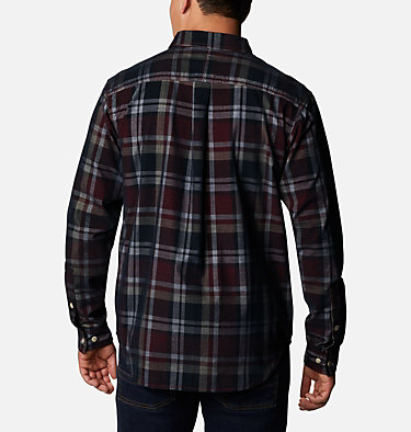 Men's Flare Gun Corduroy Shirt Flare Gun™ Corduroy Shirt | 010 | S, Black Plaid, back