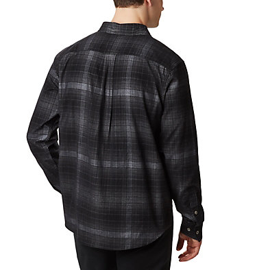 Men's Flare Gun Corduroy Shirt Flare Gun™ Corduroy Shirt | 010 | S, City Grey Ombre Tartan, back
