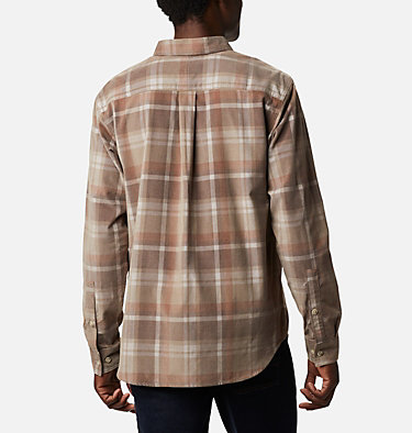 Men's Flare Gun™ Corduroy Shirt Flare Gun™ Corduroy Shirt | 010 | S, Ancient Fossil Plaid, back