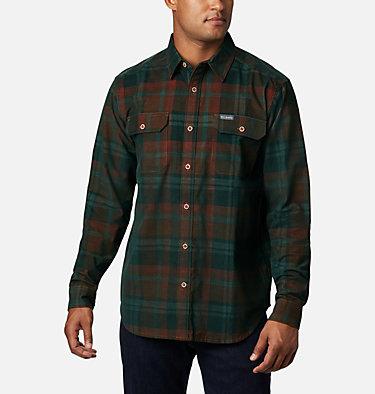 Chemise en velours côtelé Flare Gun™ pour homme Flare Gun™ Corduroy Shirt | 010 | S, Spruce Plaid, front