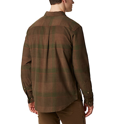 Men's Flare Gun™ Corduroy Shirt Flare Gun™ Corduroy Shirt | 010 | S, Green Large Check, back