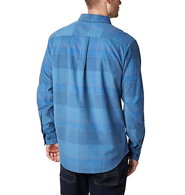 Men's Flare Gun Corduroy Shirt Flare Gun™ Corduroy Shirt | 010 | S, Scout Blue Large Check, back