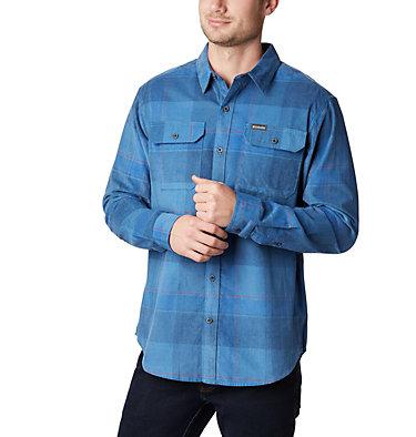 Chemise En Velours Côtelé Flare Gun Homme Flare Gun™ Corduroy Shirt | 010 | S, Scout Blue Large Check, front