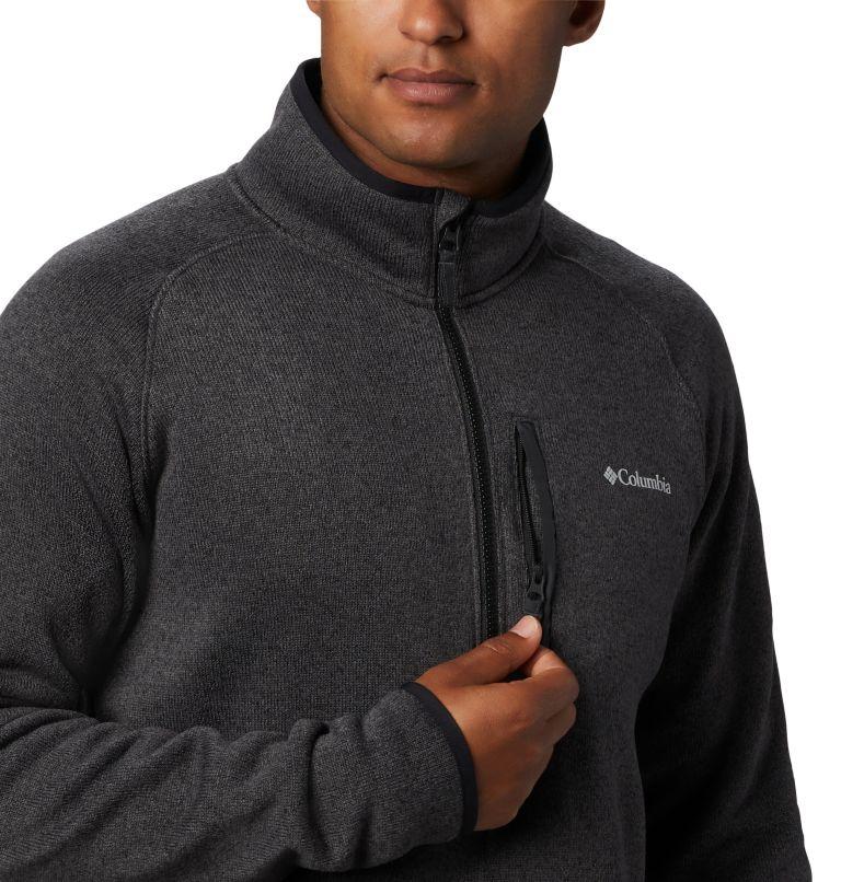 Canyon Point™ Fleece 1/2 Zip | 010 | M Men's Canyon Point™ Half-Zip Fleece, Black, a1
