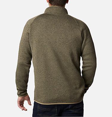 Men's Canyon Point™ Half-Zip Fleece Canyon Point™ Fleece 1/2 Zip | 449 | M, Stone Green, back
