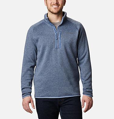 Men's Canyon Point™ Half-Zip Fleece Canyon Point™ Fleece 1/2 Zip | 449 | M, Bluestone, front