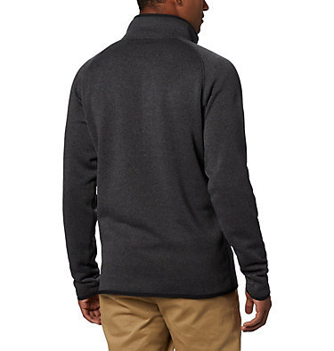 Men's Canyon Point™ Half-Zip Fleece - Tall Canyon Point™ Fleece 1/2 Zip | 010 | 2XT, Black, back