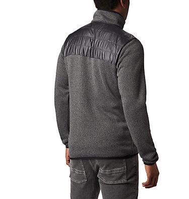 Men's Canyon Point Fleece Jacket Canyon Point™ Sweater Fleece F | 010 | L, City Grey, Shark, back