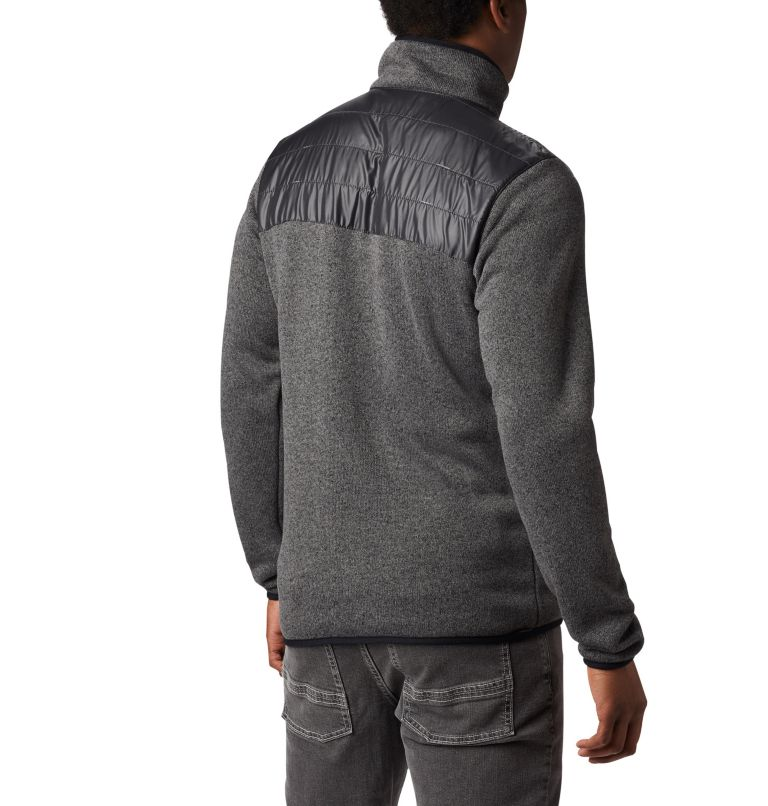 Canyon Point™ Sweater Fleece F | 023 | XL Men's Canyon Point Full Zip Sweater Fleece, City Grey, Shark, back