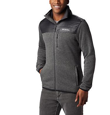 Men's Canyon Point Fleece Jacket Canyon Point™ Sweater Fleece F | 010 | L, City Grey, Shark, front