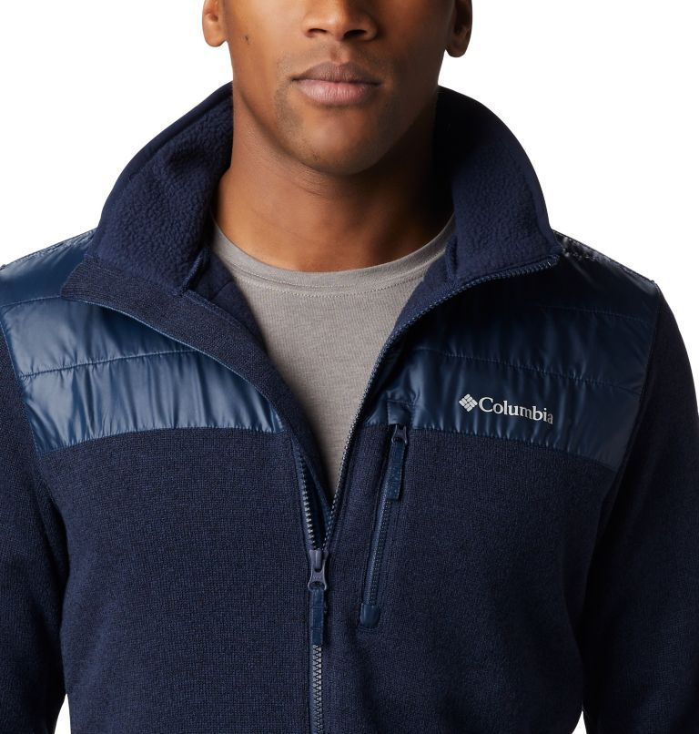 Canyon Point™ Sweater Fleece F | 464 | XL Men's Canyon Point Full Zip Sweater Fleece, Collegiate Navy, a3