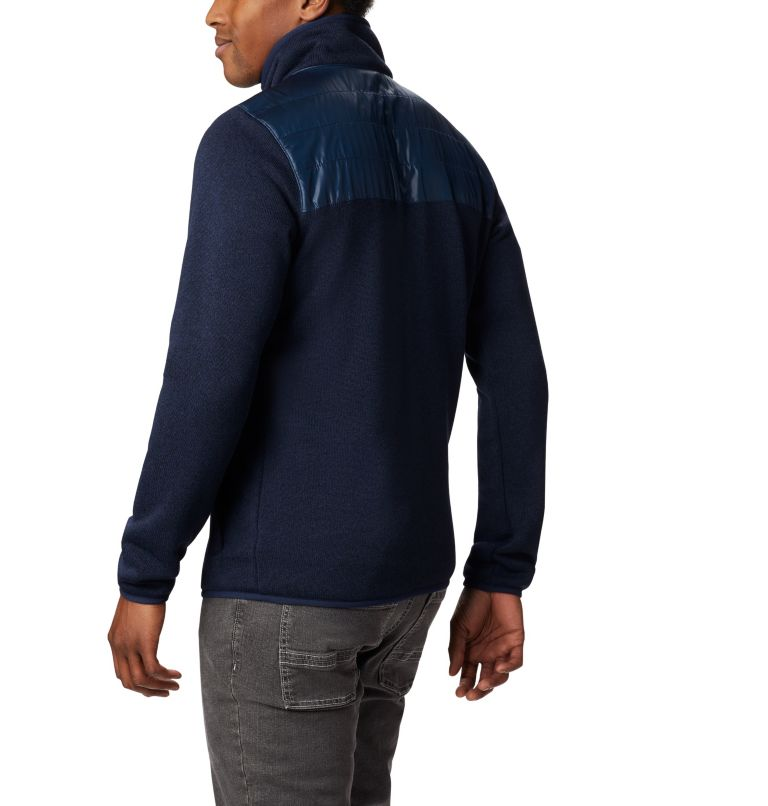 Canyon Point™ Sweater Fleece F | 464 | XL Men's Canyon Point Full Zip Sweater Fleece, Collegiate Navy, back