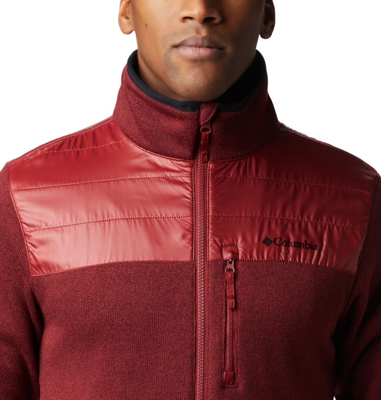 Canyon Point™ Sweater Fleece F | 664 | XXL Men's Canyon Point Full Zip Sweater Fleece, Red Jasper, a1