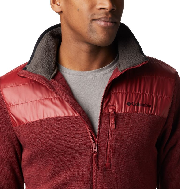 Canyon Point™ Sweater Fleece F | 664 | XXL Men's Canyon Point Full Zip Sweater Fleece, Red Jasper, a3