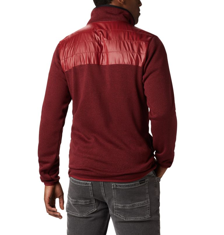 Canyon Point™ Sweater Fleece F | 664 | XXL Men's Canyon Point Full Zip Sweater Fleece, Red Jasper, back