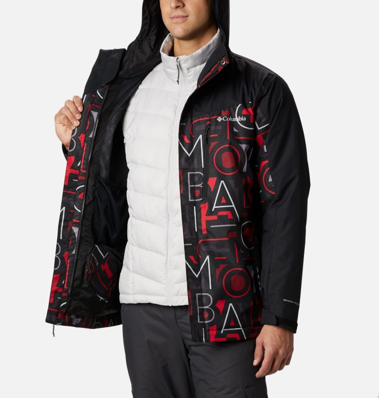 Whirlibird™ IV Interchange Jacket | 009 | XXL Manteau Interchange Whirlibird™ IV pour homme, Black Multi Typo, Black, a3