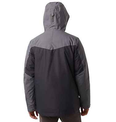 Men's Whirlibird™ IV Insulated Interchange Jacket Whirlibird™ IV Interchange Jacket | 271 | XXL, Shark, City Grey, back