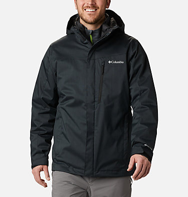 Men's Whirlibird™ IV Insulated Interchange Jacket Whirlibird™ IV Interchange Jacket | 613 | M, Black Melange, front