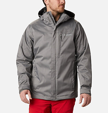 Men's Whirlibird™ IV Insulated Interchange Jacket Whirlibird™ IV Interchange Jacket | 613 | M, City Grey Melange, front