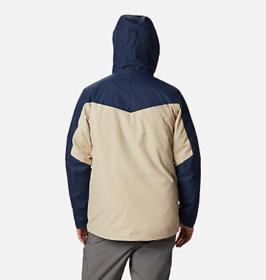 Men's Whirlibird™ IV Insulated Interchange Jacket Whirlibird™ IV Interchange Jacket | 271 | XXL, Ancient Fossil, Collegiate Navy, back