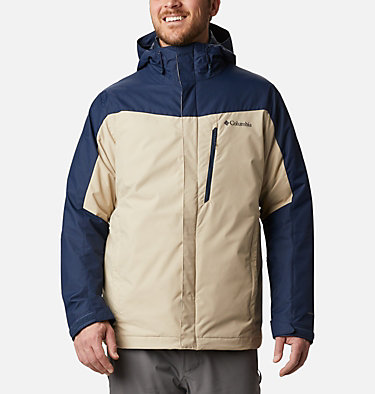Men's Whirlibird™ IV Insulated Interchange Jacket Whirlibird™ IV Interchange Jacket | 271 | XXL, Ancient Fossil, Collegiate Navy, front