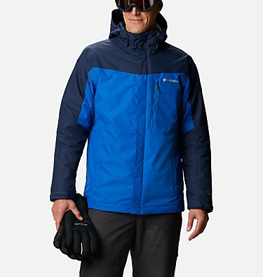 Men's Whirlibird™ IV Insulated Interchange Jacket Whirlibird™ IV Interchange Jacket | 613 | M, Bright Indigo, Collegiate Navy, front