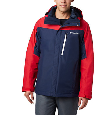 Men's Whirlibird™ IV Insulated Interchange Jacket Whirlibird™ IV Interchange Jacket | 271 | XXL, Collegiate Navy, Mountain Red, front