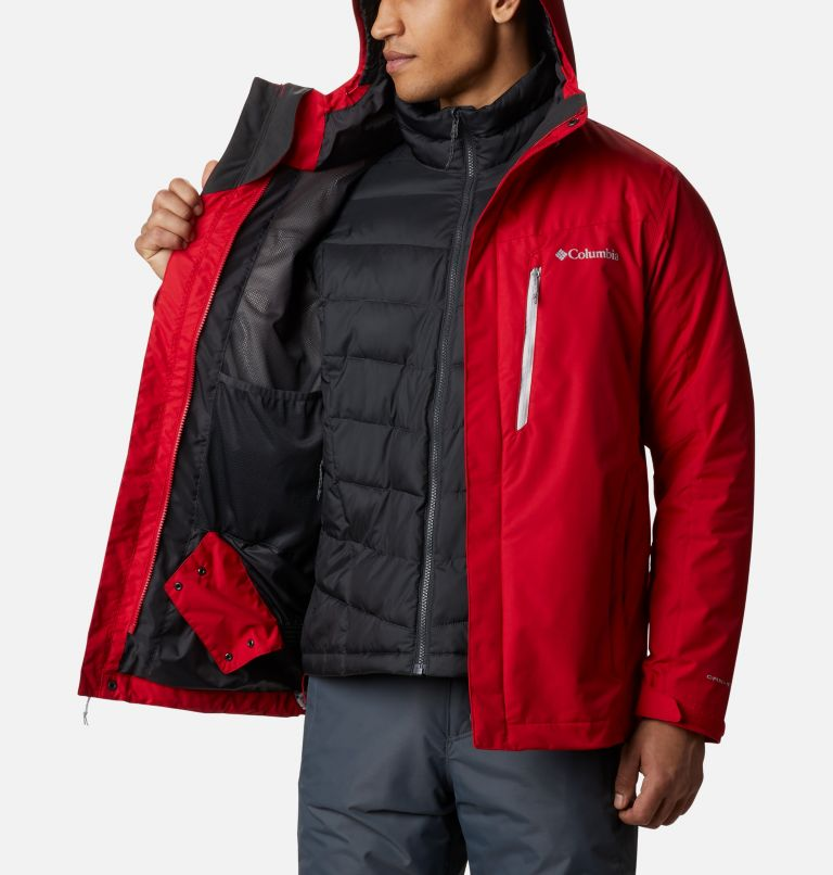 Whirlibird™ IV Interchange Jacket | 613 | S Men's Whirlibird™ IV Insulated Interchange Jacket, Mountain Red, a3