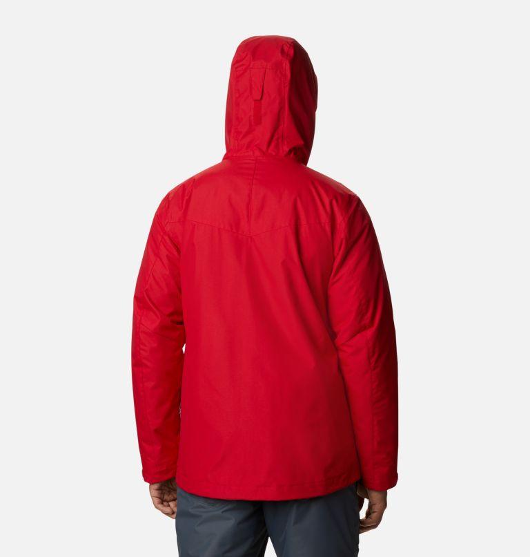 Whirlibird™ IV Interchange Jacket | 613 | S Men's Whirlibird™ IV Insulated Interchange Jacket, Mountain Red, back