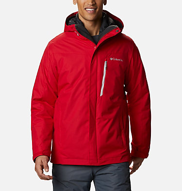Men's Whirlibird™ IV Insulated Interchange Jacket Whirlibird™ IV Interchange Jacket | 613 | M, Mountain Red, front