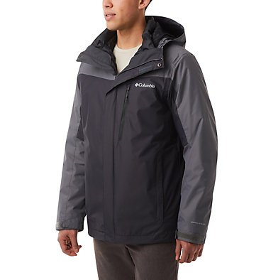 Men's Whirlibird™ IV Interchange Jacket - Big Whirlibird™ IV Interchange Jacket | 271 | 2X, Shark, City Grey, front