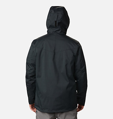 Men's Whirlibird™ IV Interchange Jacket - Big Whirlibird™ IV Interchange Jacket | 023 | 1X, Black Melange, back