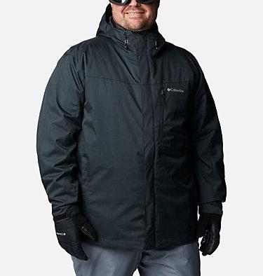 Men's Whirlibird™ IV Interchange Jacket - Big Whirlibird™ IV Interchange Jacket | 271 | 2X, Black Melange, front