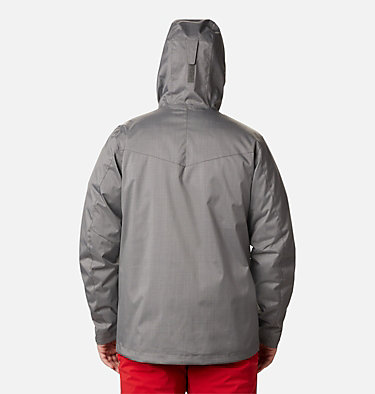 Men's Whirlibird™ IV Interchange Jacket - Big Whirlibird™ IV Interchange Jacket | 023 | 1X, City Grey Melange, back
