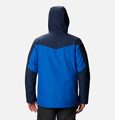 Men's Whirlibird™ IV Interchange Jacket - Big Whirlibird™ IV Interchange Jacket | 023 | 1X, Bright Indigo, Collegiate Navy, back