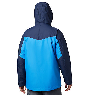 Men's Whirlibird™ IV Interchange Jacket - Big Whirlibird™ IV Interchange Jacket | 023 | 1X, Azure Blue, Collegiate Navy, back