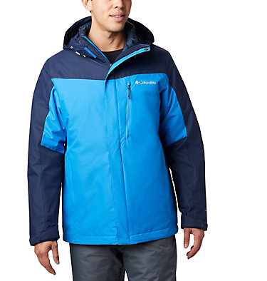 Men's Whirlibird™ IV Interchange Jacket - Big Whirlibird™ IV Interchange Jacket | 023 | 1X, Azure Blue, Collegiate Navy, front