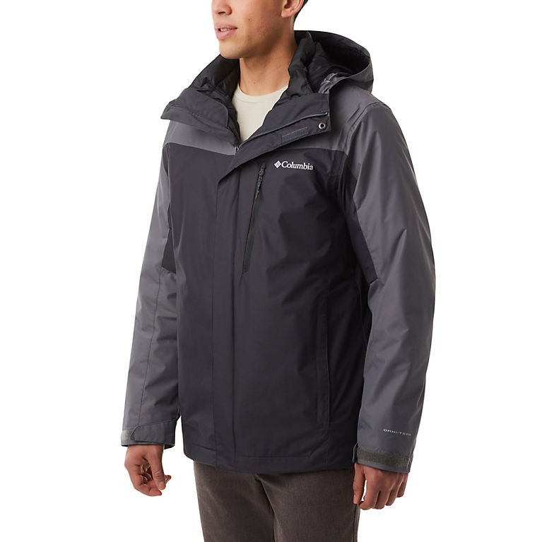 Columbia Mens Tall Whirlibird Interchange Jacket