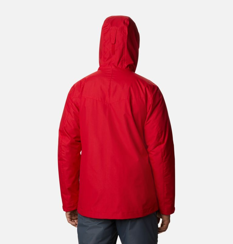 Whirlibird™ IV Interchange Jacket | 613 | 5XT Men's Whirlibird™ IV Interchange Jacket - Tall, Mountain Red, back