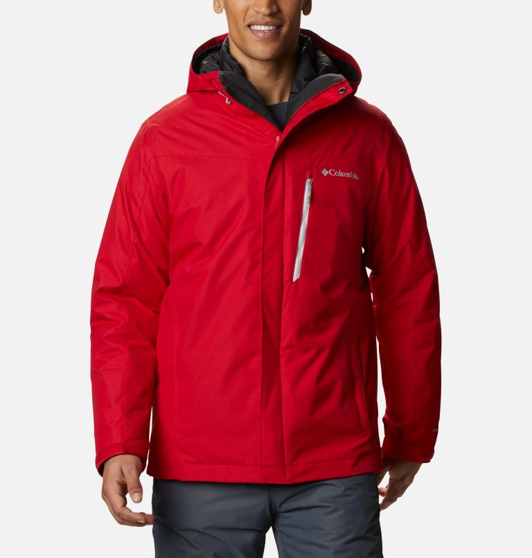 Whirlibird™ IV Interchange Jacket | 613 | 5XT Men's Whirlibird™ IV Interchange Jacket - Tall, Mountain Red, front
